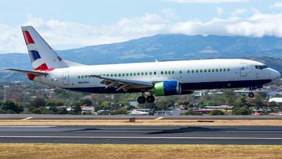 N859AU - British Airways Boeing 737-400