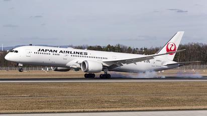 JA-865J - JAL - Japan Airlines Boeing 787-9 Dreamliner