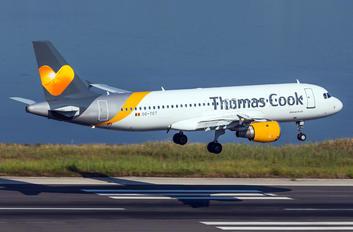 OO-TCT - Thomas Cook Belgium Airbus A320
