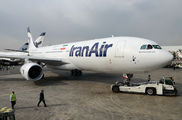 First A330 Delivered to Iran Air title=
