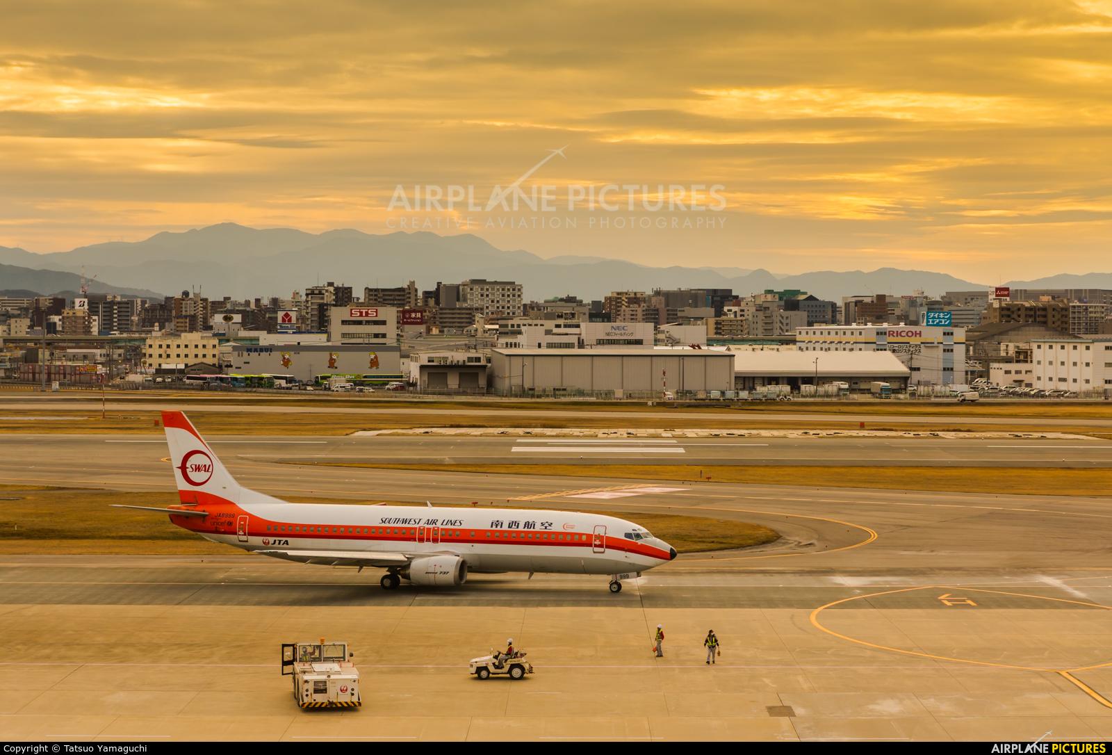 JAL - Japan Transocean Air JA8999 aircraft at Fukuoka