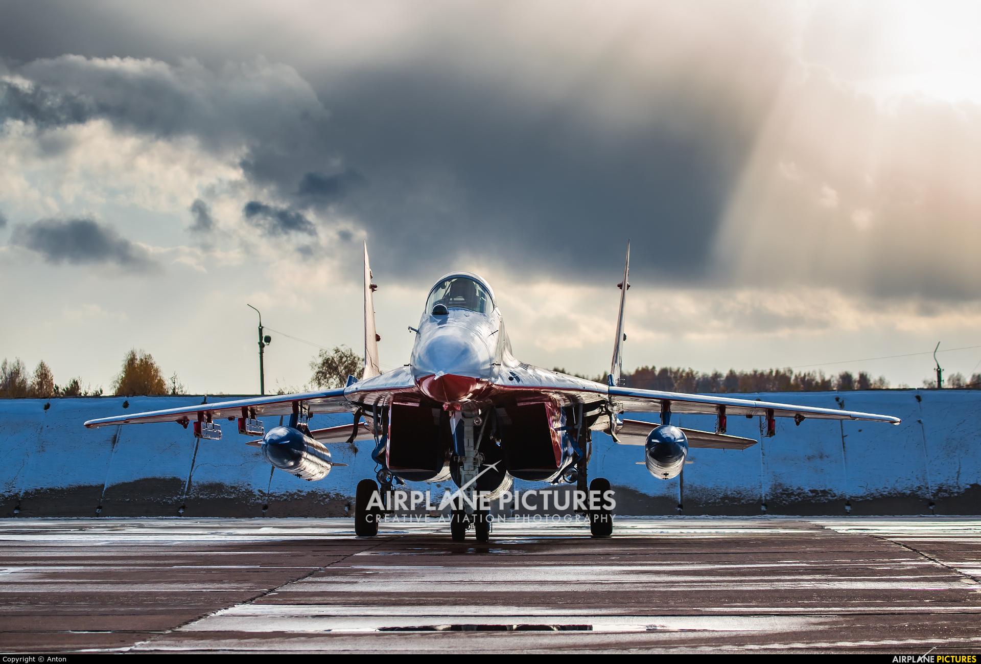 "Russia - Air Force ""Strizhi"" 30 aircraft at Chelyabinsk Shagol"