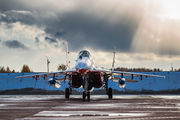 "30 - Russia - Air Force ""Strizhi"" Mikoyan-Gurevich MiG-29A aircraft"