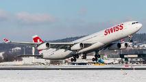 HB-JMC - Swiss Airbus A340-300 aircraft