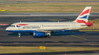 G-EUPL - British Airways Airbus A319