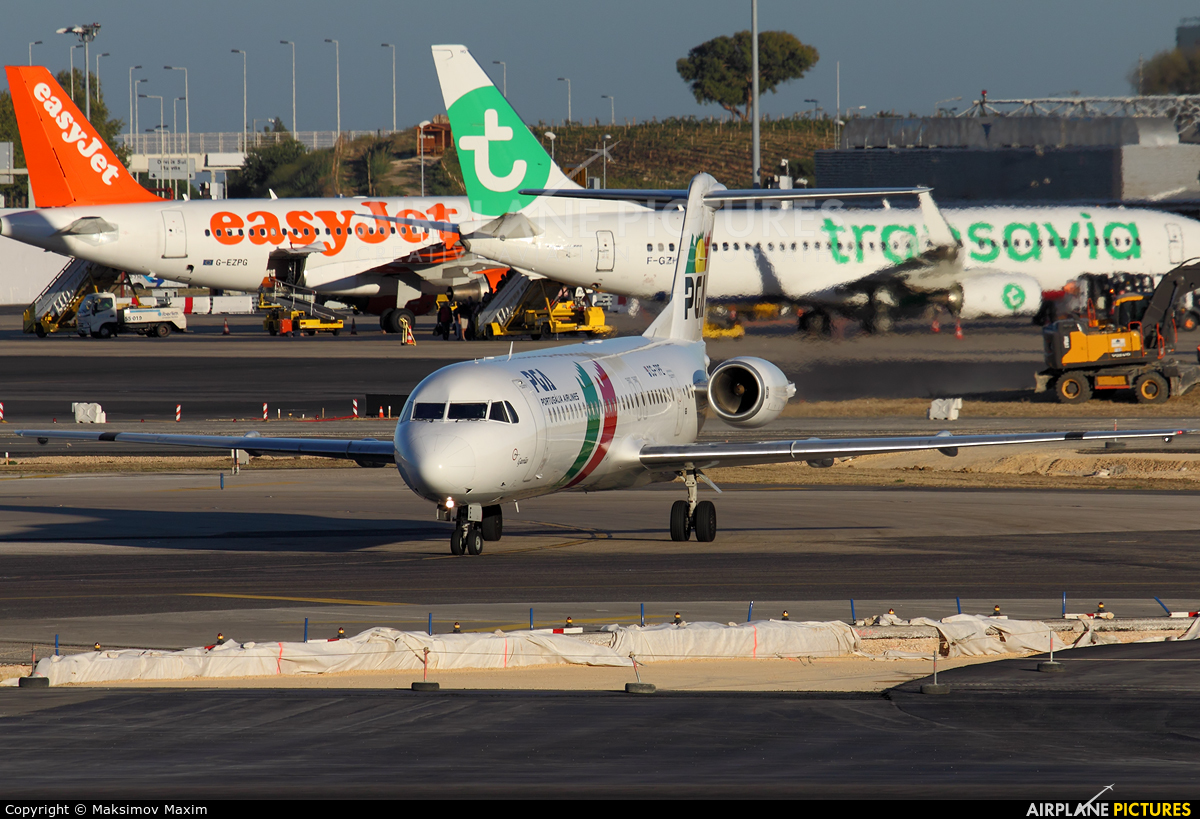 PGA Portugalia CS-TPE aircraft at Lisbon