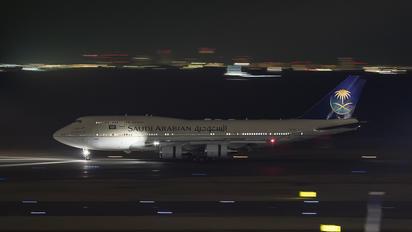 HZ-HM1 - Saudi Arabia - Royal Flight Boeing 747-400