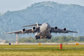 ZZ172 - Royal Air Force Boeing C-17A Globemaster III