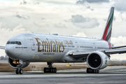 A6-EBX - Emirates Airlines Boeing 777-300ER aircraft