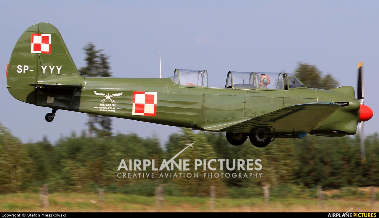 Polish Eagles Foundation SP-YYY aircraft at Sobienie Królewskie