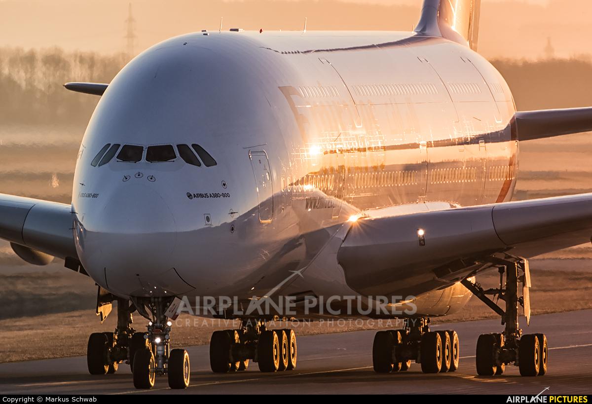 Emirates Airlines A6-EOA aircraft at Munich