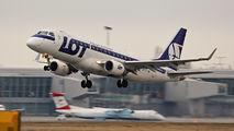 SP-LIM - LOT - Polish Airlines Embraer ERJ-175 (170-200) aircraft