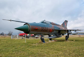 9502 - Slovakia -  Air Force Mikoyan-Gurevich MiG-21MF