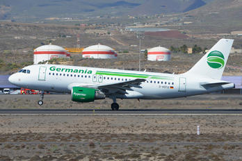 D-ASTU - Germania Airbus A319