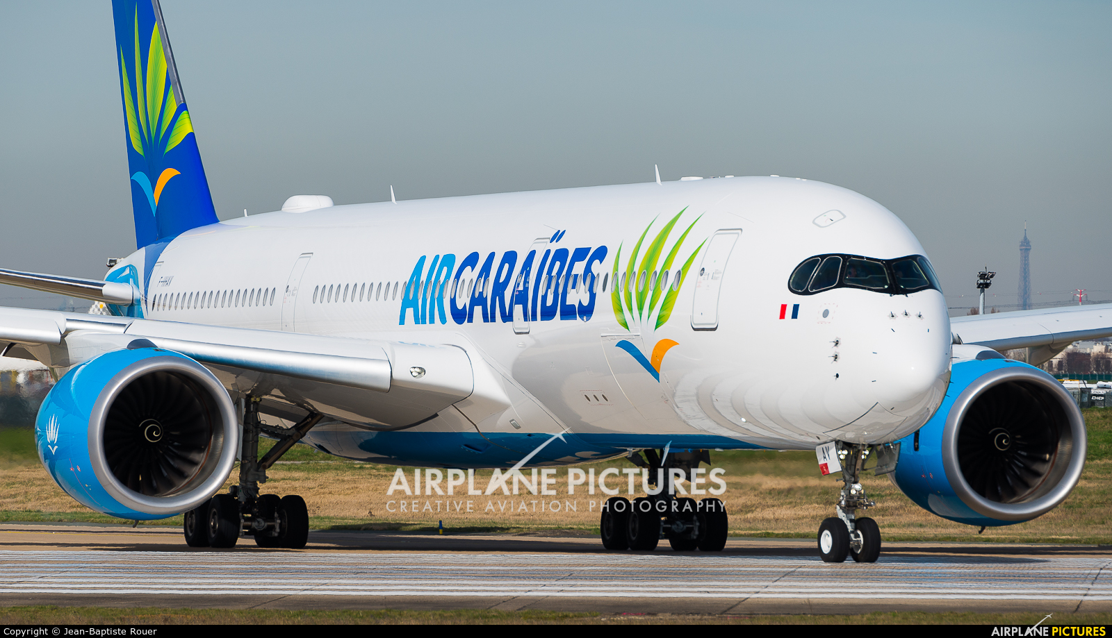 Air Caraibes F-HHAV aircraft at Paris - Orly