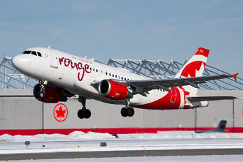 C-FYJE - Air Canada Rouge Airbus A319
