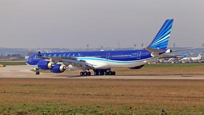 4K-AI08 - Azerbaijan - Government Airbus A340-600