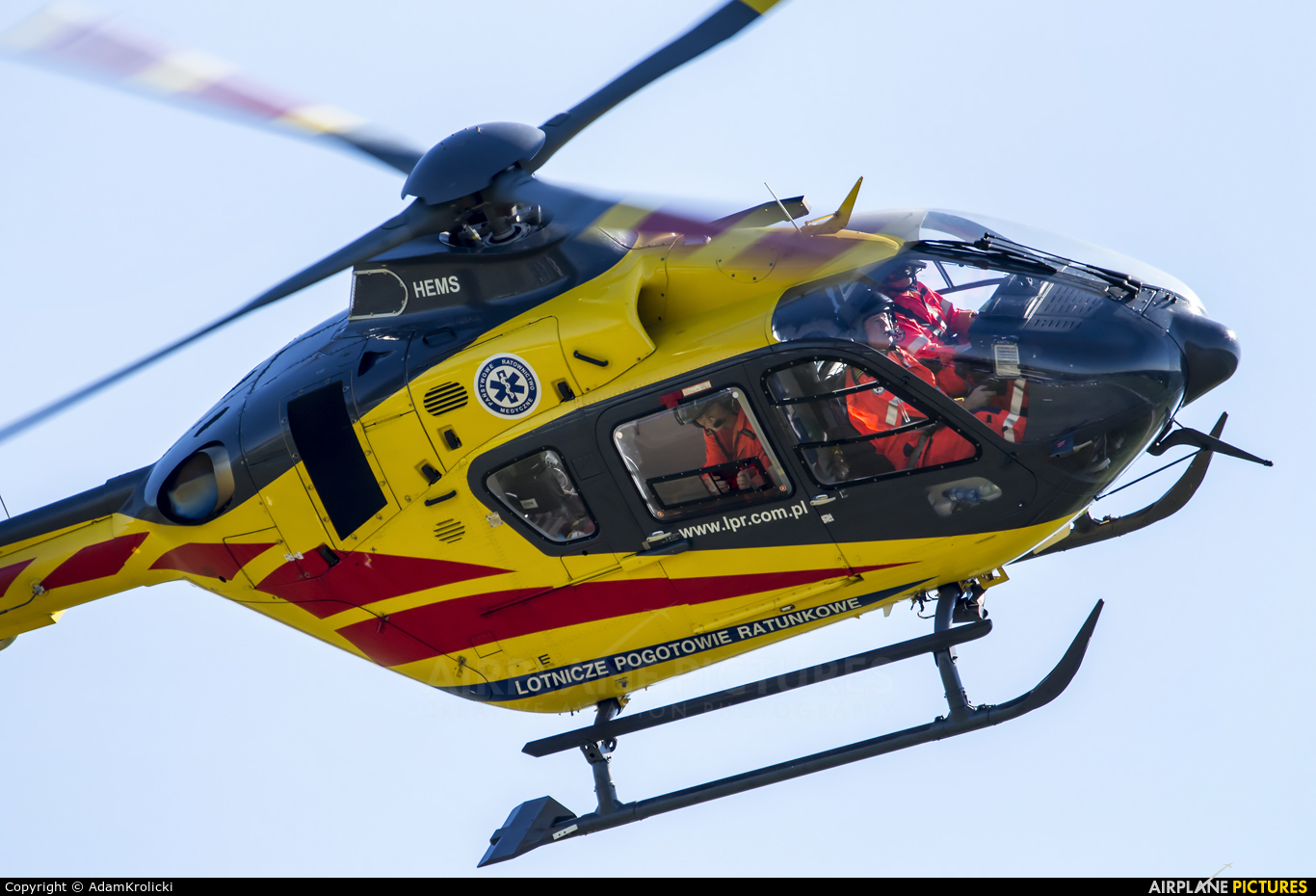 Polish Medical Air Rescue - Lotnicze Pogotowie Ratunkowe SP-HXP aircraft at Bielsko-Biała - Aleksandrowice