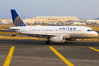N812UA - United Airlines Airbus A319