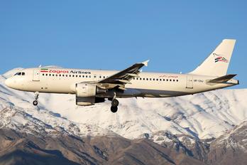UR-CNJ - Zagros Air Airbus A320