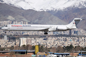 EP-ZAB - Zagros Air McDonnell Douglas MD-83