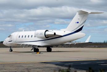 LX-JNC - Luxaviation Bombardier Challenger 605