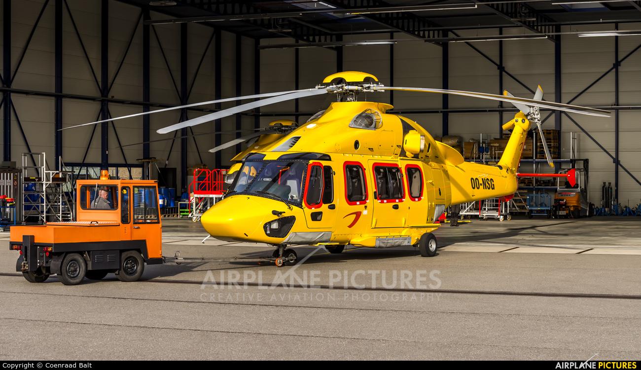 NHV - Noordzee Helikopters Vlaanderen OO-NSG aircraft at Den Helder