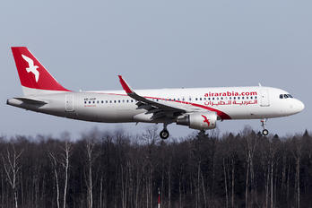 A6-AOP - Air Arabia Airbus A320 CJ