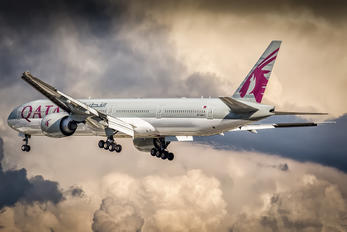 A7-BAJ - Qatar Airways Boeing 777-300ER