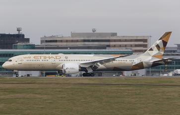 A6-BLK - Etihad Airways Boeing 787-9 Dreamliner