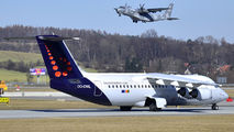 OO-DWL - Brussels Airlines British Aerospace BAe 146-300/Avro RJ100 aircraft