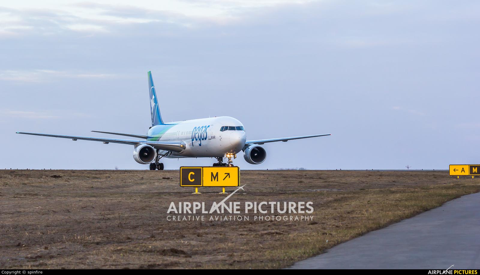 Ikar Airlines VQ-BTQ aircraft at Belgorod Intl
