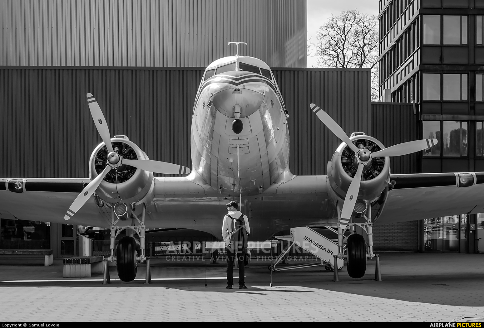 Swissair HB-IRN aircraft at Lucerne - Swiss Transport Museum