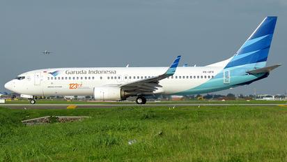 PK-GFR - Garuda Indonesia Boeing 737-800