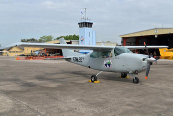 FAH-281 - Honduras - Air Force Cessna 210 Centurion