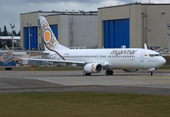 XY-ALG - Myanma Airways Boeing 737-800