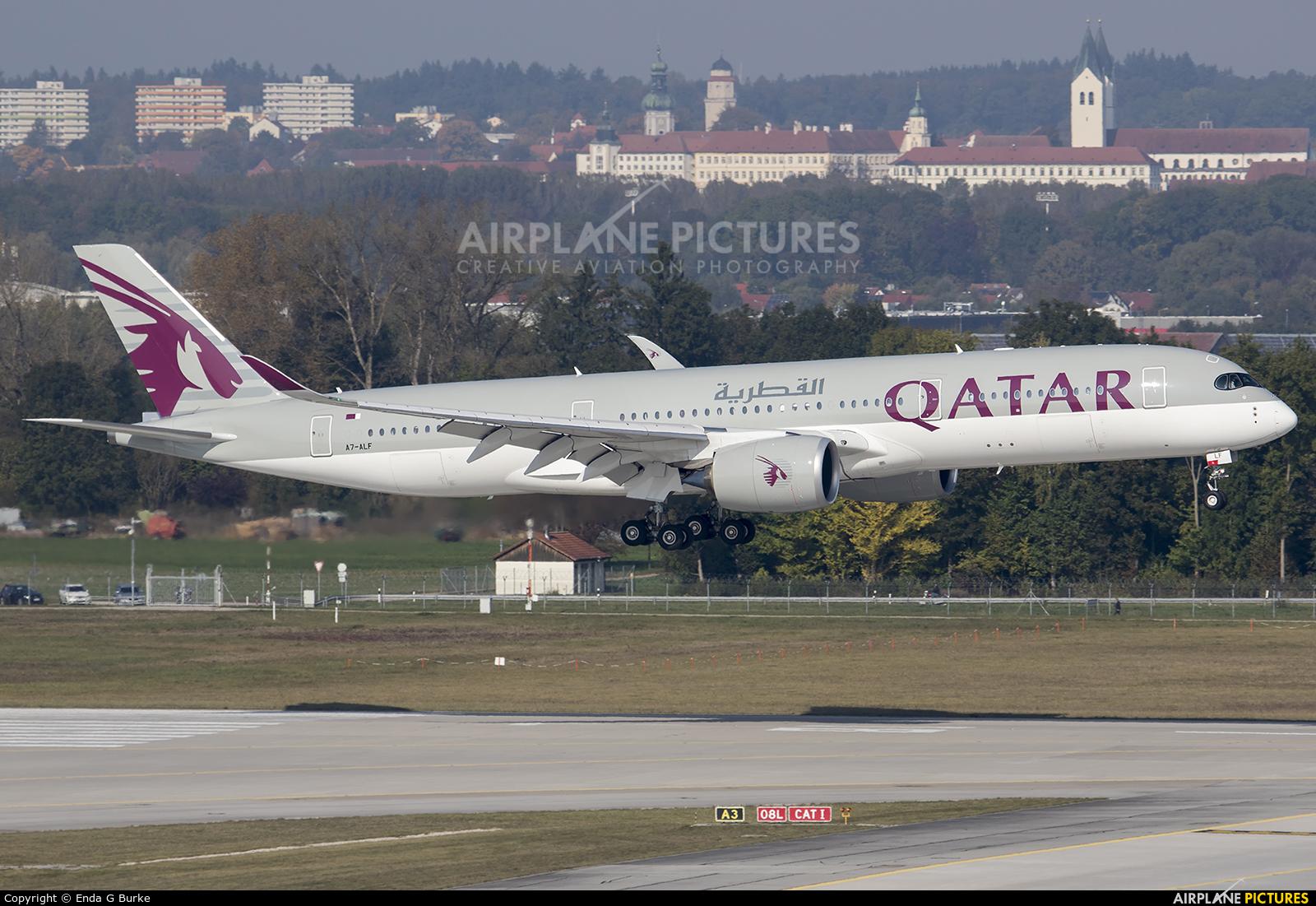 Qatar Airways A7-ALF aircraft at Munich