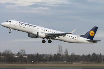 D-AEBQ - Lufthansa Regional - CityLine Embraer ERJ-190 (190-100)
