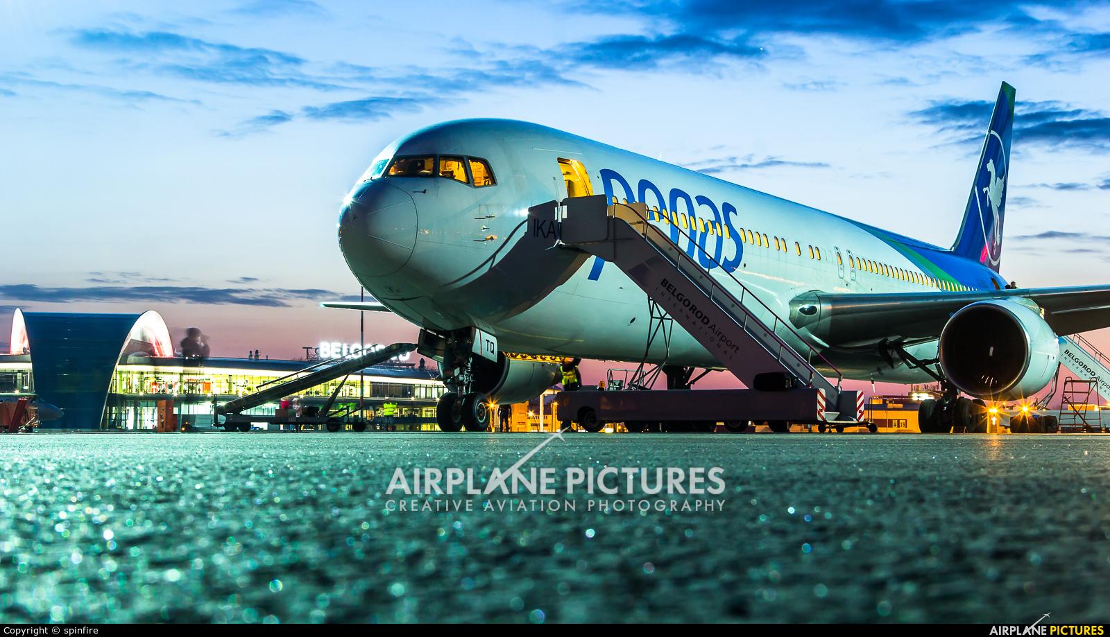 боинг 767-300 авиакомпании икар основные