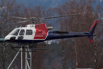 LN-OFE - Helitrans Eurocopter AS350 Ecureuil / Squirrel