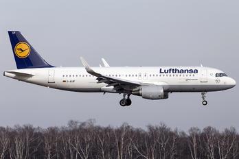 D-AIUF - Lufthansa Airbus A320