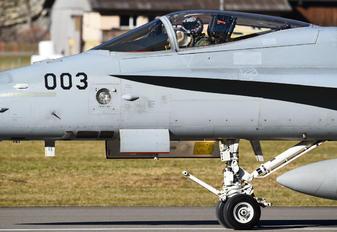 J-5003 - Switzerland - Air Force McDonnell Douglas F/A-18C Hornet
