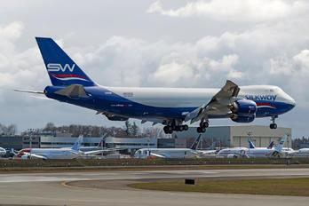 VQ-BBM - Silk Way Airlines Boeing 747-8F
