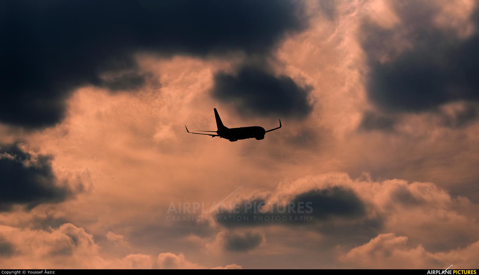 Ryanair EI-EFG aircraft at Fes - Saiss