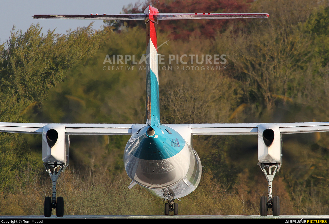 Luxair LX-LGF aircraft at Luxembourg - Findel