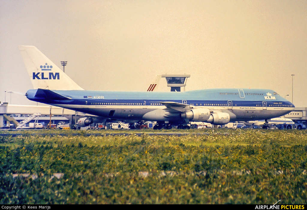 KLM N1309E aircraft at Amsterdam - Schiphol