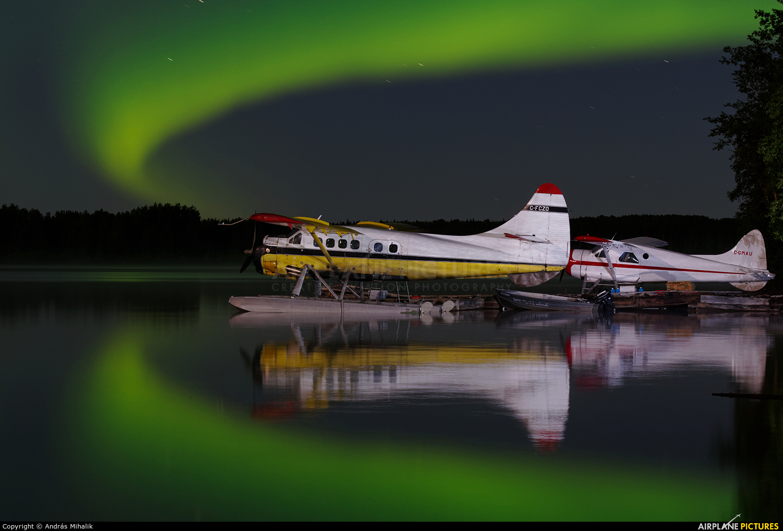 Osnaburgh Airways C-FCZO aircraft at Pickle Lake, ON