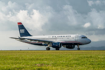 N710UW - US Airways Airbus A319