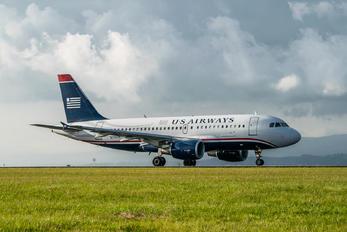 N710UW - US Airways Airbus A319
