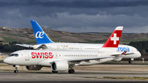 HB-JBC - Swiss Bombardier CS100 aircraft
